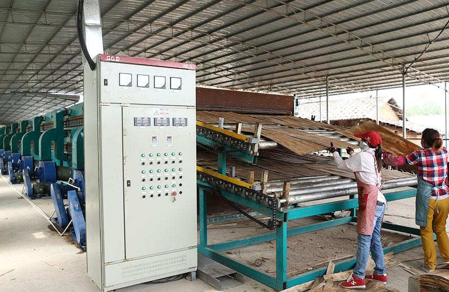 山东杨木单板烘干设备